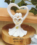 Calla Lily Couple Figurine / Favor / Cake Top