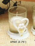 Calla Lily Couple Votive Candle