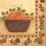Homespun Harvest Luncheon Napkins - Pkg 18
