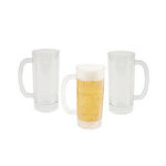 17 Ounce Plastic Beer Mug