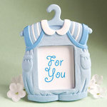 Cute Baby Themed Photo Frame Favor - Blue