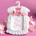 Cute Baby Themed Photo Frame Favor - Pink