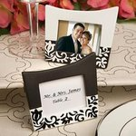 Damask Design Picture Frame/Place Card Holder