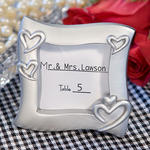 Exquisite Silver Place Card Holder/Photo Frames