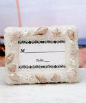 Shell and Sand Design Place Card / Picture Frames