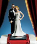 Hollywood Glamour Couple Stars for a Day Figurine