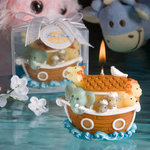 Noah's Ark Design Candle