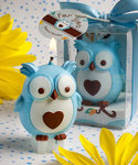 Owl Candle Favor (Pink/Blue)