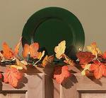 80 Autumn Leaves Lighted Garland