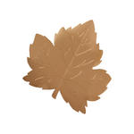 Foil Maple Leaf Cutouts - Pkg 12 - 2 Sizes!