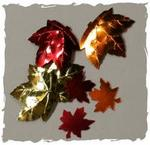 Multi Size Maple Leaf Confetti Mix