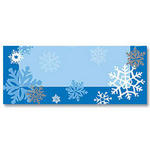 Multi Color Snowflake Placecards - Pkg 12