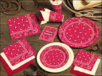 Classic Bandana Western Napkins - 2 Sizes!