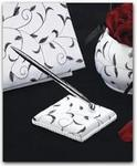 Black & White Vine Pen Set