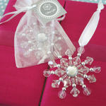 Beaded Snowflake Ornament