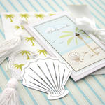 A Jewel From the Sea Seashell Bookmark