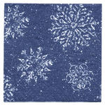 Winter Flurry Beverage or Luncheon Napkins