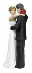 Dancing Bride & Groom Figurine