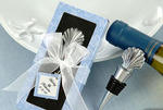 Scallop Shell Bottle Stopper in Personality Box - Set of 4
