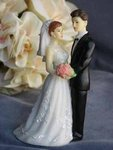 Elegant Wedding Bride and Groom- Small