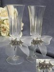 Elegant Fairy Tale Cinderella Coach Wedding Toasting Glasses