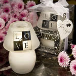 LOVE Design Candle Lamp Favor