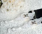 Western Cowboy Lasso Wedding Cake Server Set
