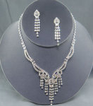 Hollywood Rhinestone Necklace Set