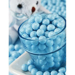 Baby Shower Candy - Chocolate Sixlets - Powder Blue - 14 oz