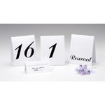 Table Tent Cards - 3 Available Styles