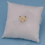 Paper Rose Wedding Ring Bearer Pillow