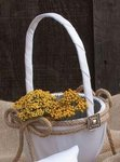 Big Sky Western Flower Basket
