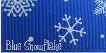 5/8 Grosgrain Snowflake Ribbon - 50 Yard Roll
