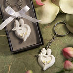 Bride & Groom Design Favor Saver KeyChain Favor