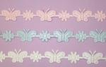 Butterfly & Daisy Ribbon / Trim - 3 Colors