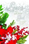 Christmas Theme Blank Wedding Programs - Pkg 100