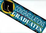 Congratulations Graduates Banner - Sold by the Message!
