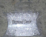 750 6.5mm Clear Acrylic Diamond Confetti
