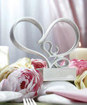 Family Stylized Heart Cake Topper