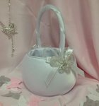 Butterfly Beauty Flower Girl Basket