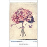 Hydrangea Our Wedding Blank Wedding Programs - Pkg 100