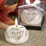 Love Design Favor Saver Candles