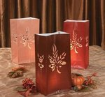 Maple Leaf Luminary Bags - Pkg 12