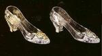 Cinderella Slipper Placecard Holder - Pkg 12 - Gold or Silver!
