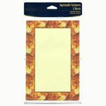 Painted Leaves Stationery - Pkg 8