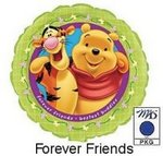 Pooh & Tigger Forever Friends Mylar Balloon