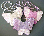 Butterfly Sequin Purse - Colors!