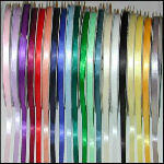 Satin Ribbon Color Samples - up to 12 Free!