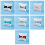 Satin Ring Pillow with Bow - 7 Color Choices!