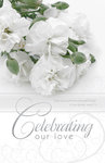 Celebrating Our Love Blank Wedding Programs - Pkg 100